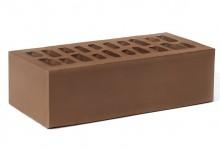 Кирпич облицовочный Амстердам (Шоколад) 1НФ (одинарный) Альтаир