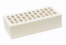 Кирпич облицовочный Белый 1НФ (одинарный). ЛСР