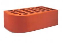 Кирпич облицовочный фасонный Красный 1,4 НФ (полуторный) Железногорский