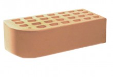 Кирпич облицовочный фасонный Солома 1,4 НФ (полуторный) Железногорский